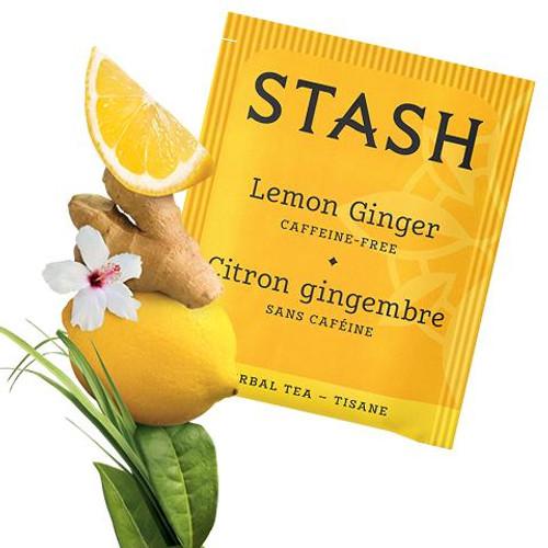 Stash Lemon Ginger Tea Bags