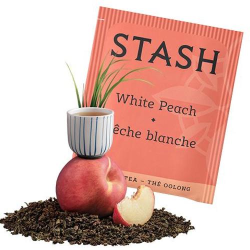 White Peach Oolong Tea Bags