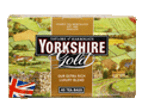 Taylors of Harrogate Yorkshire Gold Black English Style Teabags 40