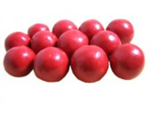 Raspberry Malted Milk Balls
