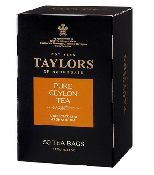 Taylors of Harrogate Ceylon English Style Teabags 50