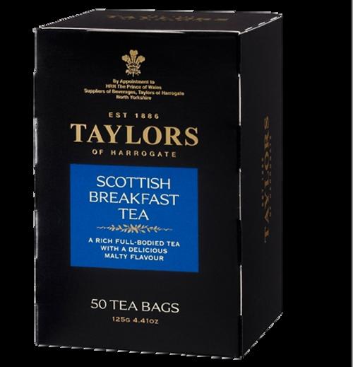 Taylors of Harrogate Scottish Breakfast Teabags 50 ct