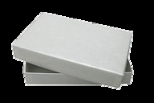 1/2 pound white gift box