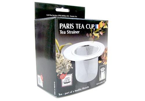 Paris Tea Cup Strainer SS