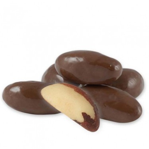 Milk Chocolate Covered Brazil Nuts