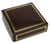 Brown 4 Piece Dessert Truffle Box & Bow