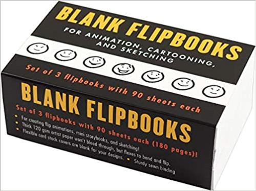 Blank Flipbook 3-Pack