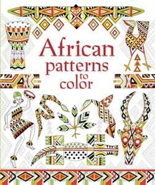 Coloring Books : African Patterns