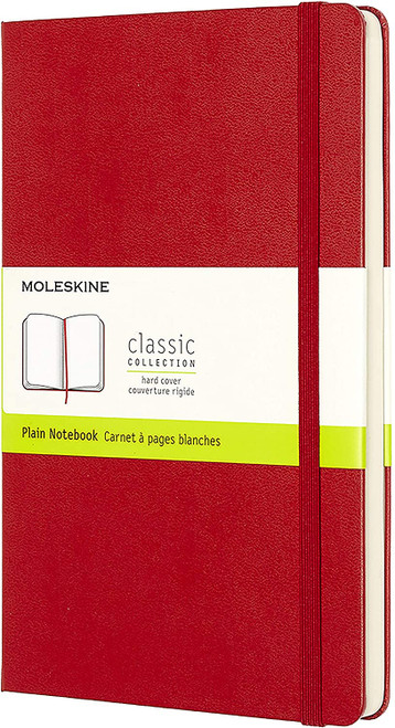 Classic Notebook - Large Scarlet Red