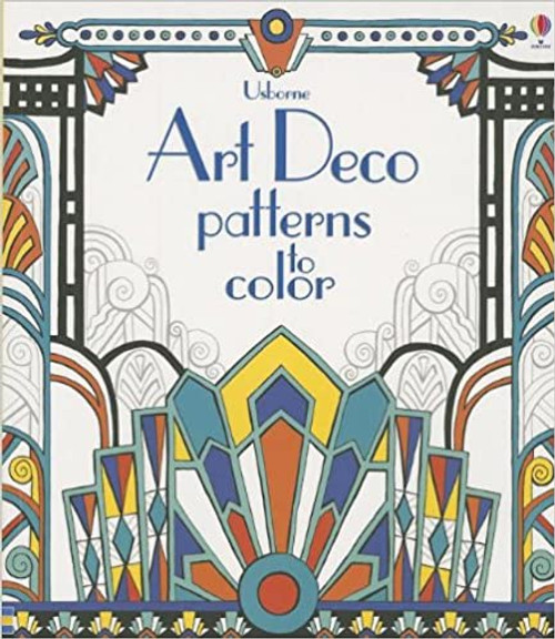 Coloring Book : Art Deco Patterns