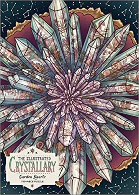 Illustrated Crystallary Garden Quartz 750 pc. Puzzle