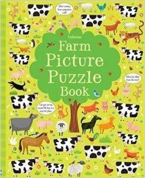 Picture Puzzle Book: Farm