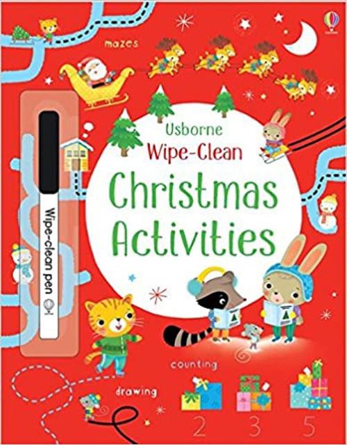 Wipe-Clean: Christmas Activities