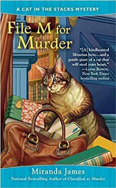 Cat in the Stacks Mystery #3: File M for Murder