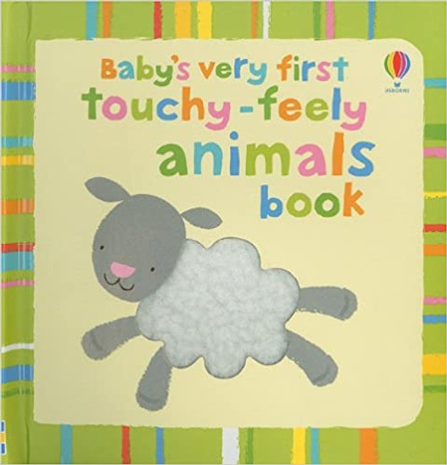 Baby's Very First: Touchy Feely Animals Book