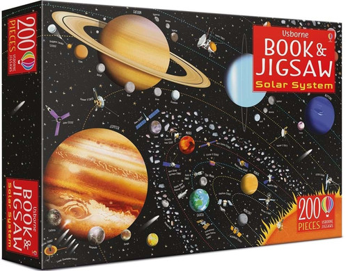 Book and Jigsaw Puzzle: Solar System