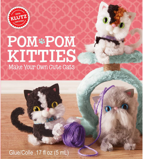 Pom Pom Kitties: Make Your Own Cute Cats