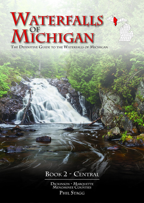 Waterfalls of Michigan: The Definitive Guide to the Waterfalls of Michigan - Central
