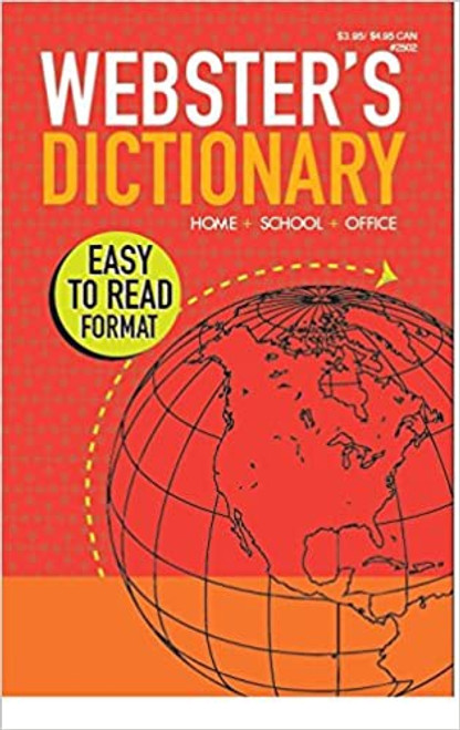 Webster's Dictionary LARGE PRINT