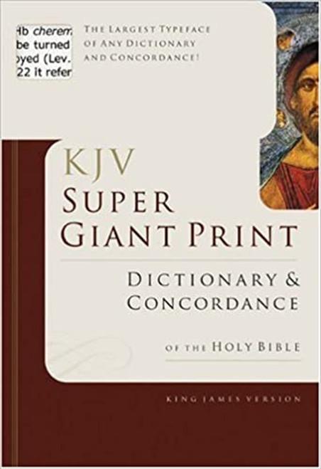 KJV Super Giant Print Dictionary & Concordance