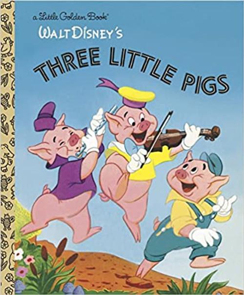 Little Golden Book: Disney Classic: Three Little Pigs