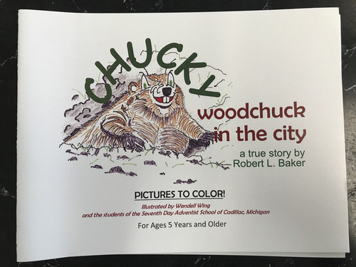 Chucky Woodchuck in the City
