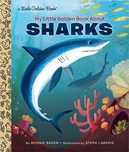 Little Golden Book: My Little Golden Book  About Sharks