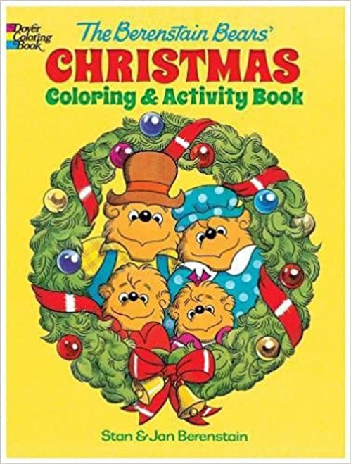Berenstain Bears Christmas Coloring & Activity Book