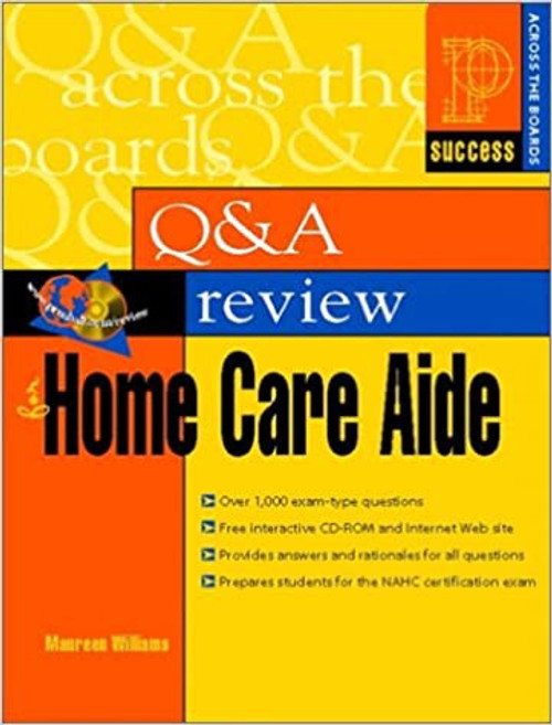 Q & A Review for Home Care Aide Book and CD