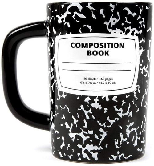 Composition Notebook Mug