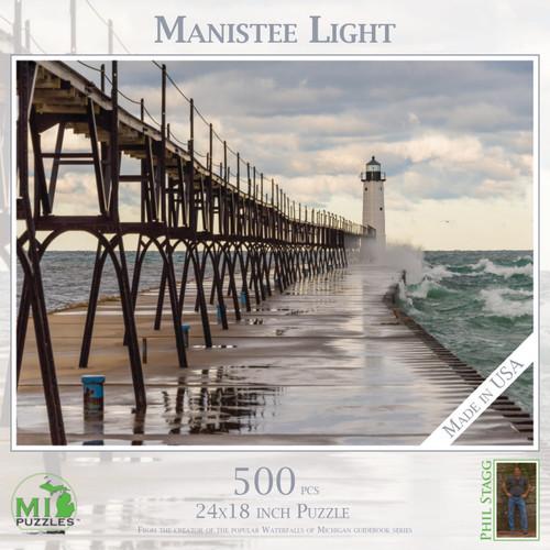 Manistee Light 500 pc Puzzle