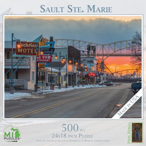 Downtown Sault Ste. Marie 500 pc Puzzle