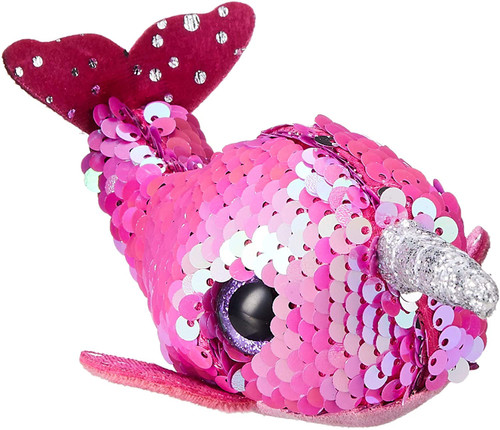 ZZOP_Nelly the Sequin Narwhal - Teeny