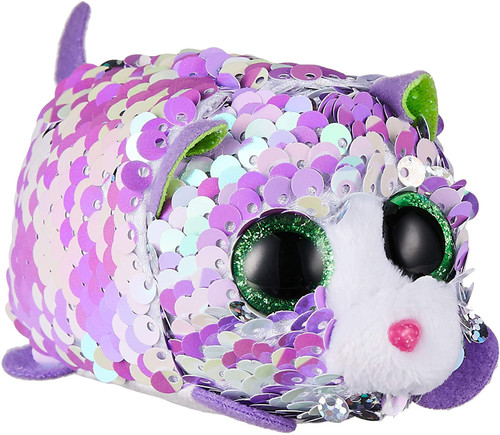 Lilac the Sequin Cat - Teeny