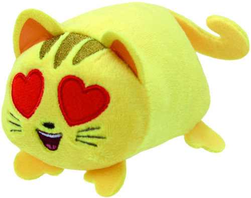 ZZOP_Cat with Heart Eyes Emoji - Teeny