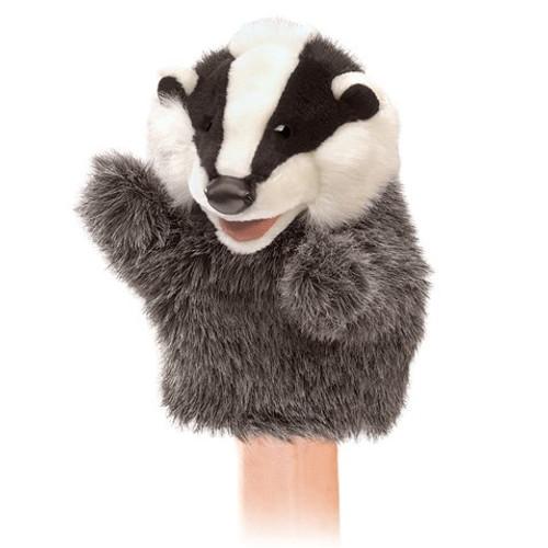 Folkmanis Puppet:  Hand Puppet: Little Badger