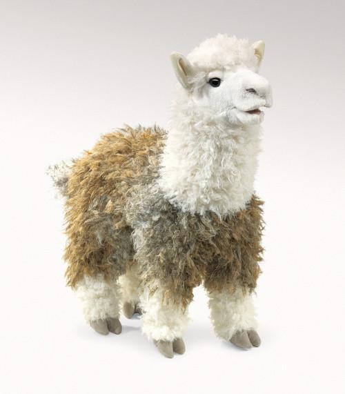 Folkmanis Puppet: Alpaca