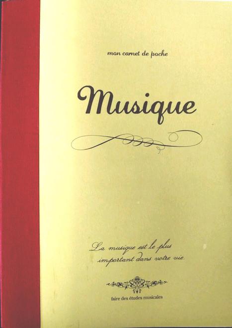 Musique Notebook  Large