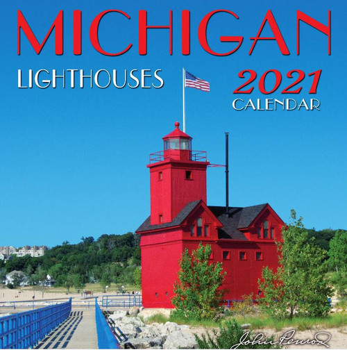 Michigan Lighthouses 2021 Calendar