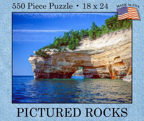Pictured Rocks 550 pc. Puzzle