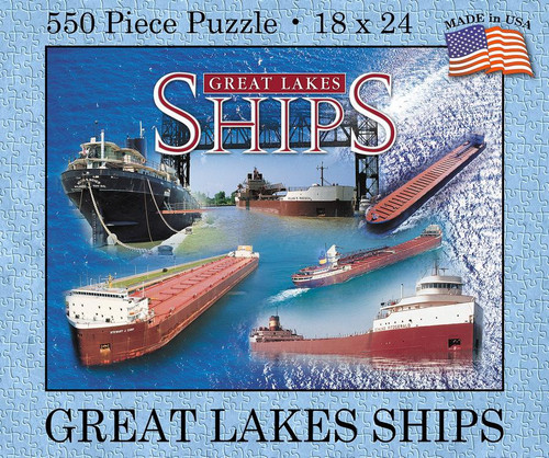 Great Lakes Ships 550 pc. Puzzle