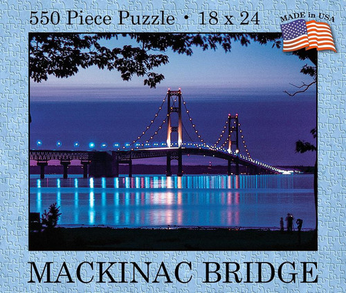 Mackinac Bridge 550 pc. Puzzle