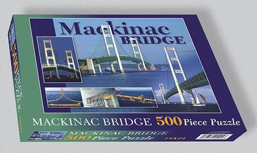 Mackinac Bridge 500 pc. Puzzle