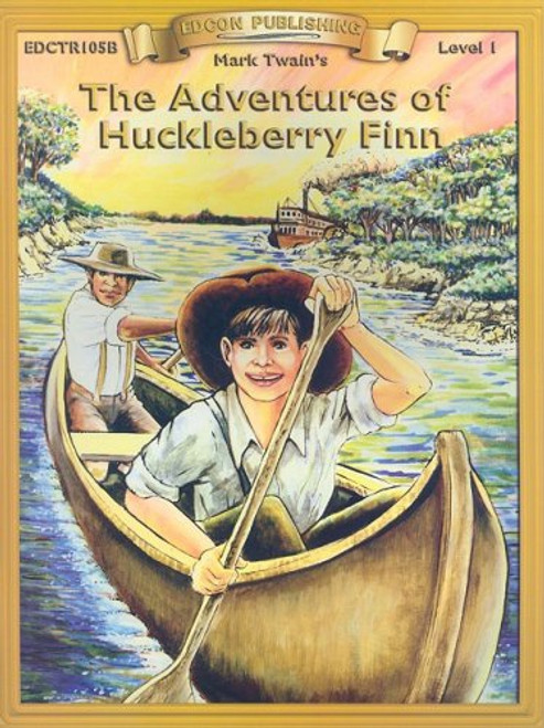 Adventures of Huckleberry Finn Activity/Comprehension Book