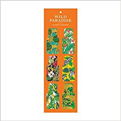 Wild Paradise Magnetic Bookmarks