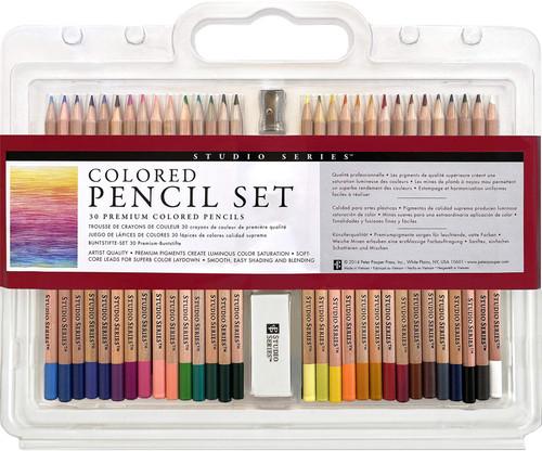 Studio Series 30 Piece Colored Pencil Set