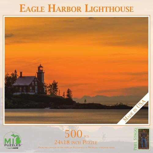 Eagle Harbor Lighthouse PUZ 518
