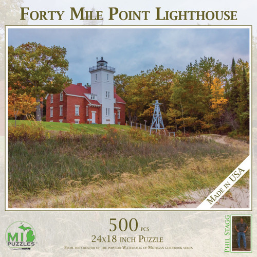 Forty Mile Point Lighthouse PUZ 520