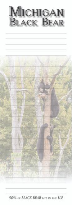 Michigan Black Bear Memo Pad