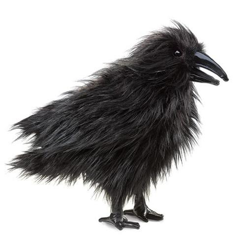 Folkmanis Puppet: Raven